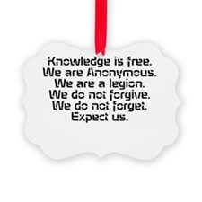 Knowledge is free.1 Ornament