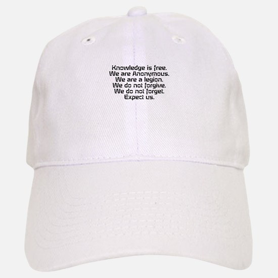 Knowledge is free.1 Baseball Baseball Baseball Cap