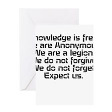 Knowledge is free.1 Greeting Cards