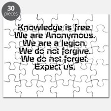 Knowledge is free.1 Puzzle