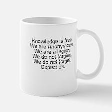 Knowledge is free.1 Mugs