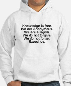 Knowledge is free.1 Hoodie