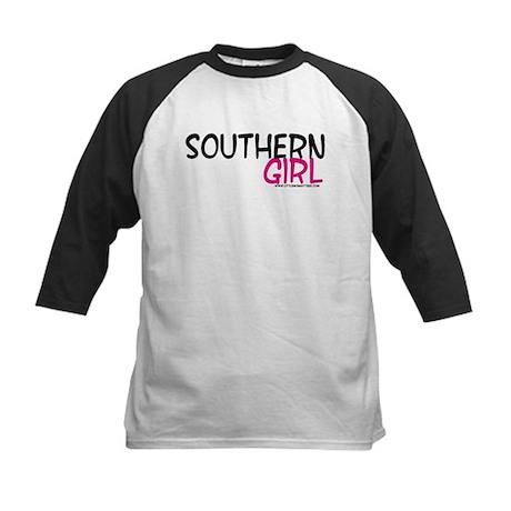 Southern Girl Kids Baseball Jersey
