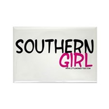Southern Girl Rectangle Magnet