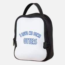 I love me some Otters Neoprene Lunch Bag