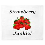 Strawberry Junkie King Duvet