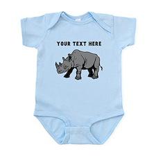 Custom Baby Rhino Body Suit