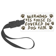 Warning This House Is Covered In Dog Hair Luggage