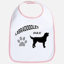 Labradoodles Rule Bib