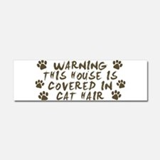 Warning This House Is Covered In Cat Hair Car Magn