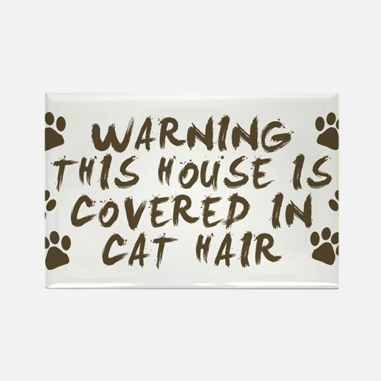 Warning This House Is Covered In Cat Hair Magnets
