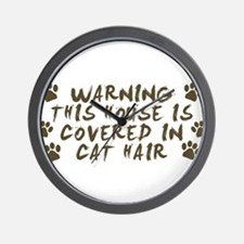Warning This House Is Covered In Cat Hair Wall Clo