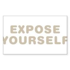 Expose Yourself Stickers