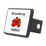 Strawberry Addict Rectangular Hitch Cover