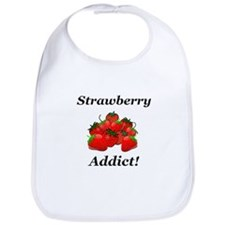 Strawberry Addict Bib