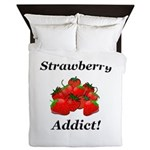 Strawberry Addict Queen Duvet