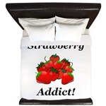 Strawberry Addict King Duvet