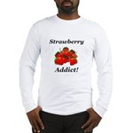 Strawberry Addict Long Sleeve T-Shirt