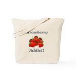Strawberry Addict Tote Bag