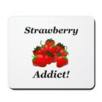 Strawberry Addict Mousepad