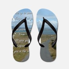 Old Irish Blessing #1 Flip Flops