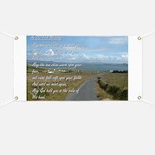 Old Irish Blessing #1 Banner
