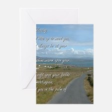 Old Irish Blessing #1 Greeting Cards
