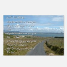 Old Irish Blessing #1 Postcards (Package of 8)