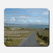 Old Irish Blessing #1 Mousepad