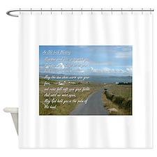 Old Irish Blessing #1 Shower Curtain
