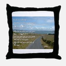 Old Irish Blessing #1 Throw Pillow