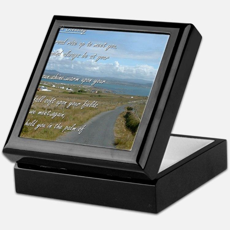 Old Irish Blessing #1 Keepsake Box