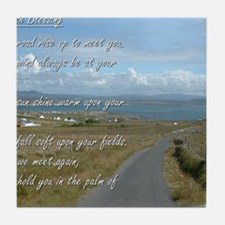Old Irish Blessing #1 Tile Coaster