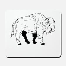 Bison Sketch Mousepad
