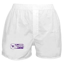 Make Mine Swissie Boxer Shorts