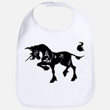 Filigree Unicorn Bib