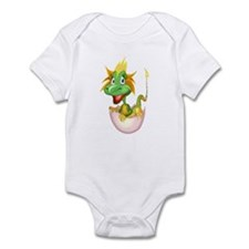 Baby Dragon Hatching From Egg Infant Bodysuit