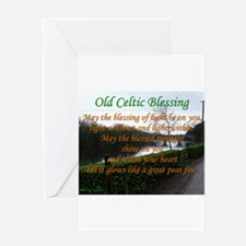 Old Celtic Blessing Greeting Cards