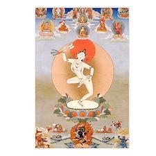 Vintage Tibetan Art Postcards (Package of 8)