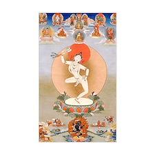 Vintage Tibetan Art Decal