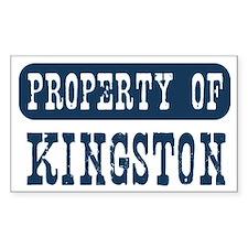 Kingston Decal