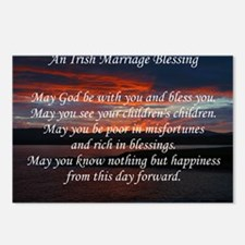 Irish Marriage Blessing Postcards (Package of 8)