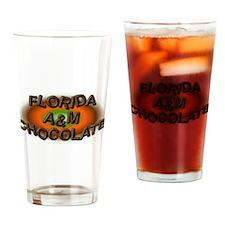 FLORIDA A&M CHOCOLATE Drinking Glass