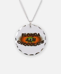 FLORIDA A&M CHOCOLATE Necklace