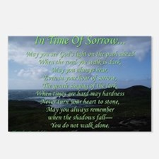 In Time of Sorrow Postcards (Package of 8)