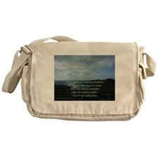 In Time of Sorrow Messenger Bag