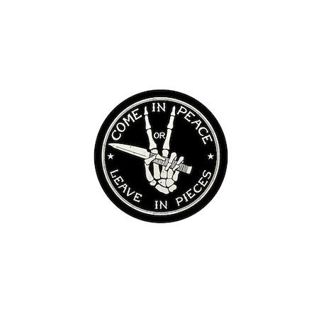 Come in Peace Mini Button (10 pack)