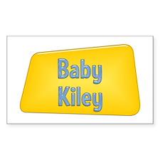 Baby Kiley Rectangle Decal