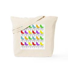 Mid Century Modern Chair Pattern Tote Bag