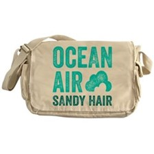 Ocean Air Sandy Hair Messenger Bag